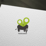 Travel Elephant Logo for Sale