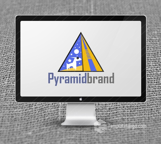 Pyramid Logo Design for Sale