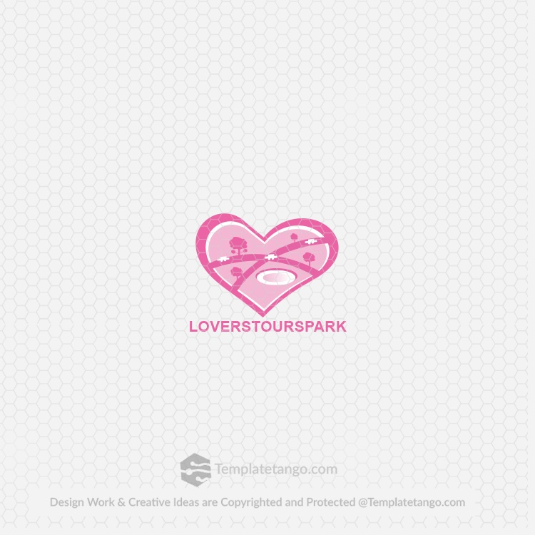 Pink Nature Logo for Sale