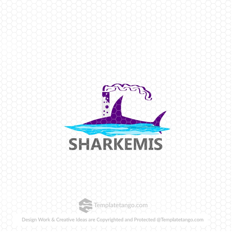 Shipping Fishing Logo