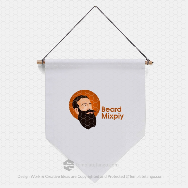 beard-man-logo-design-wall-design