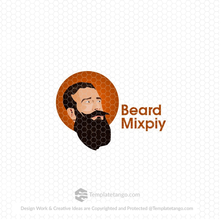 beard-man-logo-design