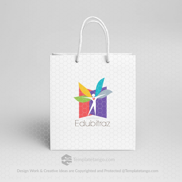 education-women-man-logo-design-ready-made-logo