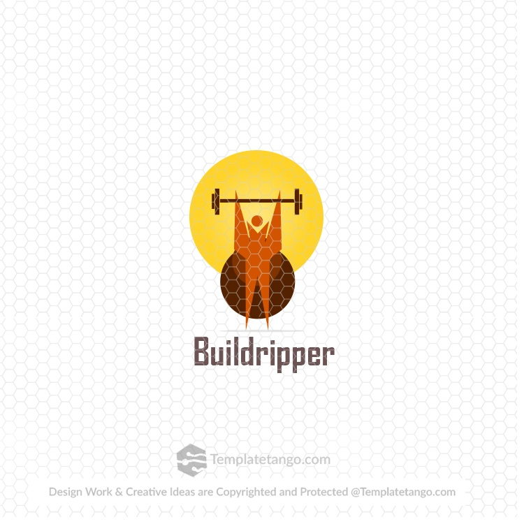 gym-body-building-logo-design