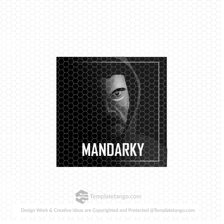 man-face-illustration-logo-design