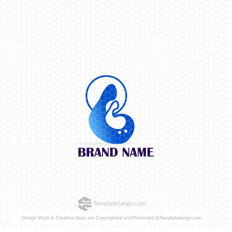 mother-and-baby-concept-logo