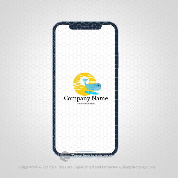 wale-fish-sun-water-lake-logo