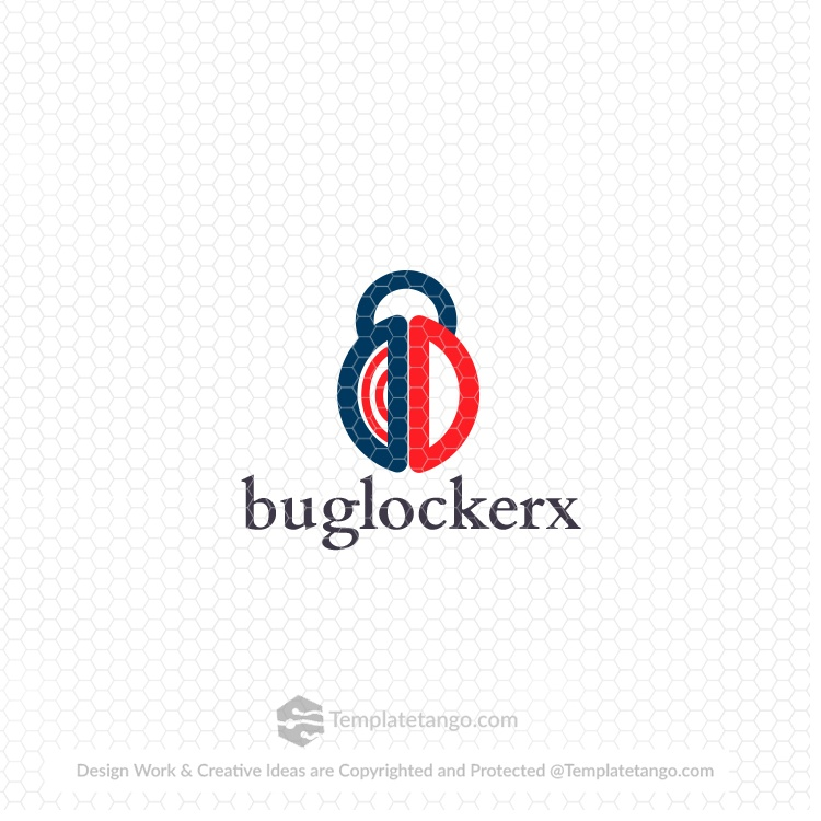 security-bug-lock-logo